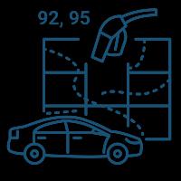 ГЛОНАСС контроль топлива на легковой машине в Ростове-на-Дону
